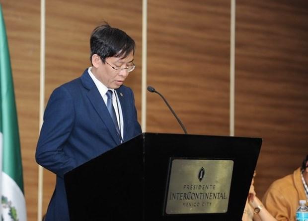 越南出席在墨西哥举行的教育工会国际第18届代表大会 hinh anh 2