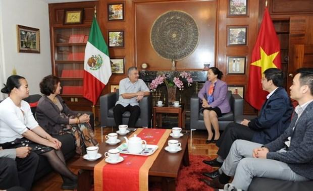 越南出席在墨西哥举行的教育工会国际第18届代表大会 hinh anh 4