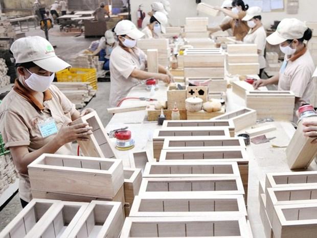 2018年前两月美国仍是越南木材及木制品最大的出口市场 hinh anh 1