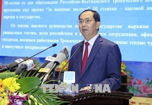 陈大光:越俄热带中心成为越俄跨领域热带研究基地 hinh anh 2