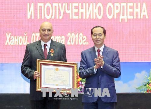 陈大光:越俄热带中心成为越俄跨领域热带研究基地 hinh anh 1