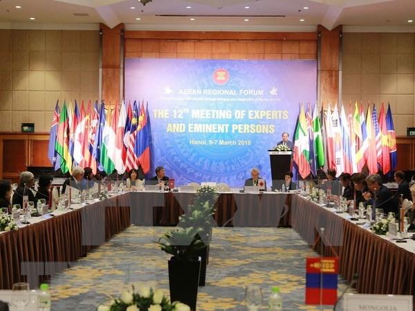 第十二届东盟地区论坛专家名人小组会议在河内开幕 hinh anh 1