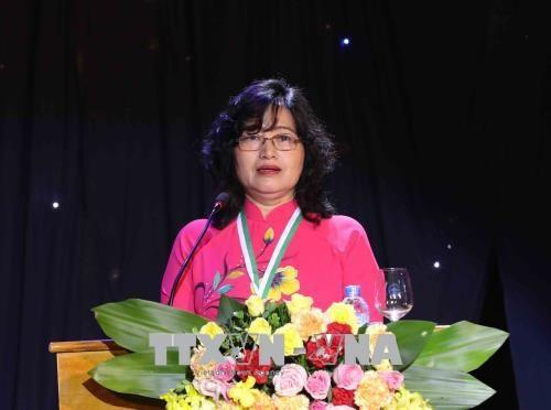 2018年柯瓦列夫斯卡娅奖颁奖仪式在河内举行 两名女性科学家获奖 hinh anh 2