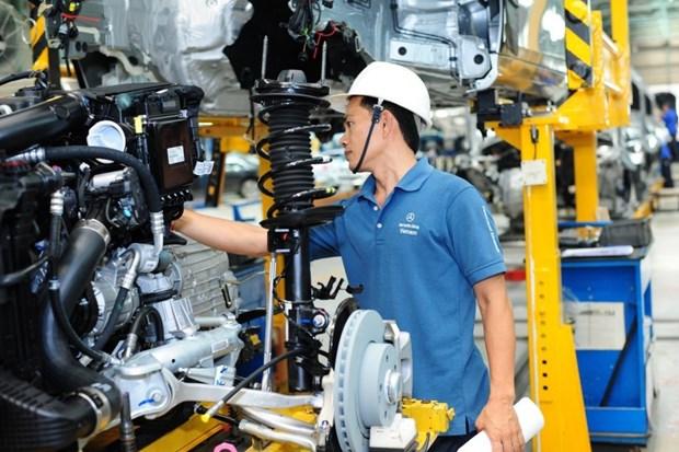 2018年前两月胡志明市工业生产指数再创新高 hinh anh 1