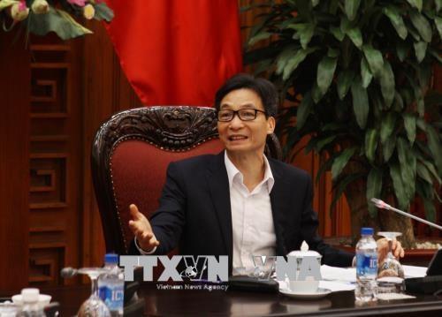 武德儋副总理:确定对每个部委、行业、地方的具体任务分配 hinh anh 1