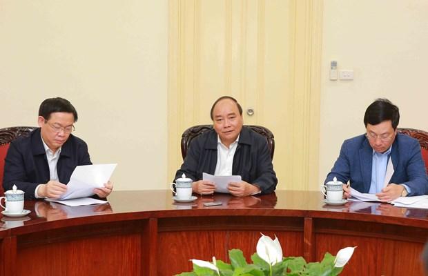 阮春福总理:ODA资金只能用于投资性支出 不得用于经常性支出 hinh anh 1