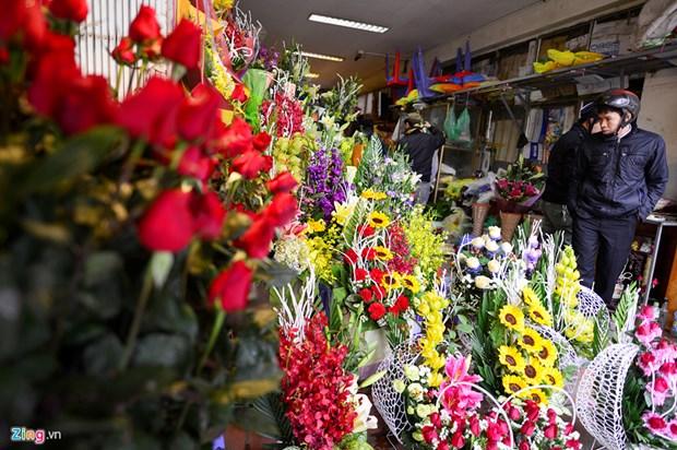 美丽鲜花带着花农们的诚意 hinh anh 1