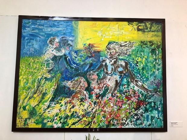 """""""母亲与大自然""""画展亮相越南妇女博物馆 hinh anh 3"""