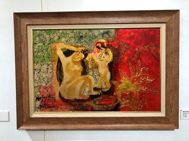 """""""母亲与大自然""""画展亮相越南妇女博物馆 hinh anh 2"""