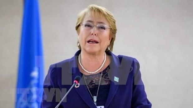 智利总统米歇尔·巴切莱特:CPTPP是关于推进国际融合的承诺 hinh anh 1