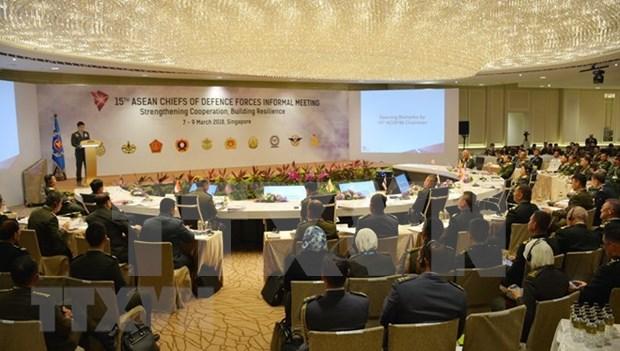 第十五届东盟陆军总司令非正式会议:合作、韧性、有效应对新兴挑战 hinh anh 1