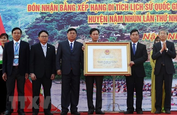 黎利石碑国家级宝物证书正式公布 hinh anh 1