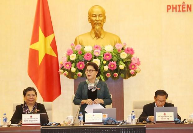 越南第14届国会常务委员会召开第22次会议 hinh anh 1
