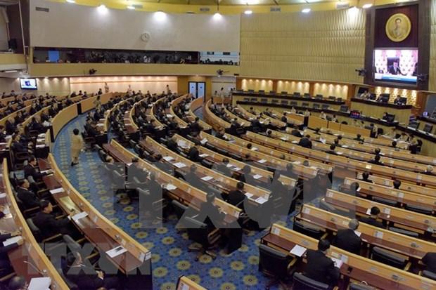 泰国通过上议院和下议院选举法草案 hinh anh 1