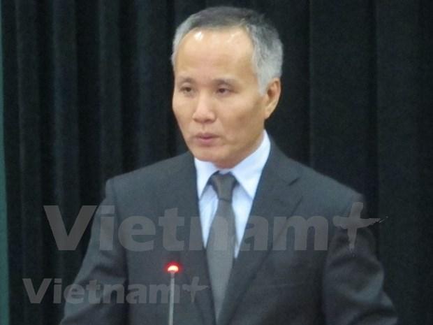 越南工贸部副部长陈国庆:越南支持促进贸易便利化的所有机制 hinh anh 1