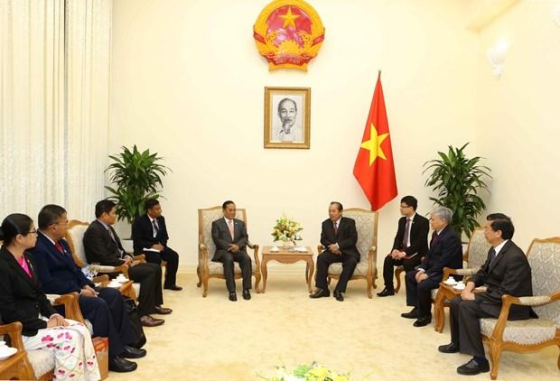 努力推动越南与缅甸合作走向深入 hinh anh 2