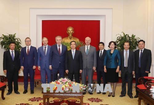 俄罗斯联邦共产党代表团对越南进行工作访问 hinh anh 1