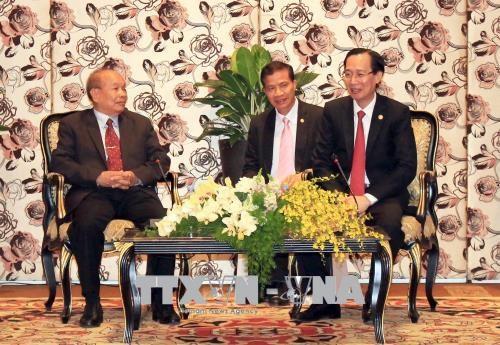 胡志明市重视并不断培育与柬埔寨各地方各部门的关系 hinh anh 1