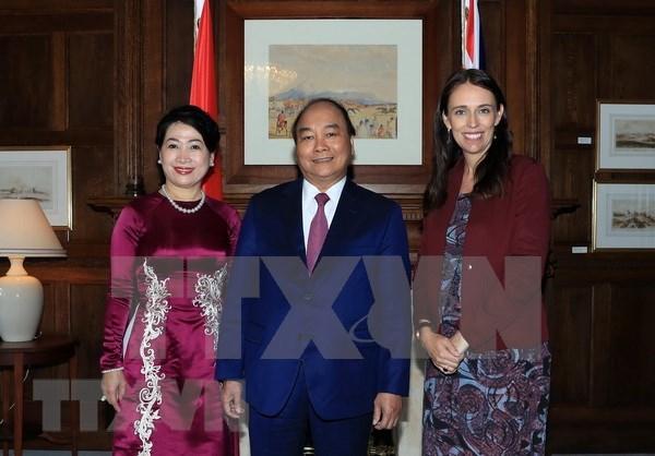 越南与新西兰发表《联合声明》 涉及所有领域合作 hinh anh 1