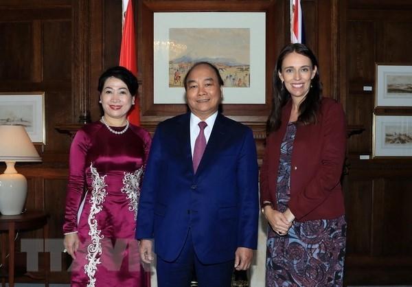 越南政府总理阮春福圆满结束对新西兰的正式访问 hinh anh 1