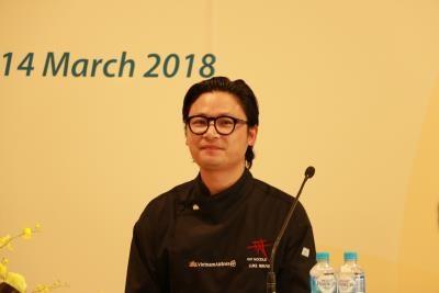 越裔澳大利亚厨师成为越航全球美食大使 hinh anh 1