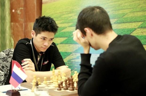 2018年HDBank国际象棋公开赛第6轮:黎俊明升至榜首 hinh anh 1