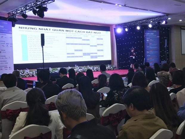 2018年越南电子商务全景论坛在河内举行 hinh anh 1