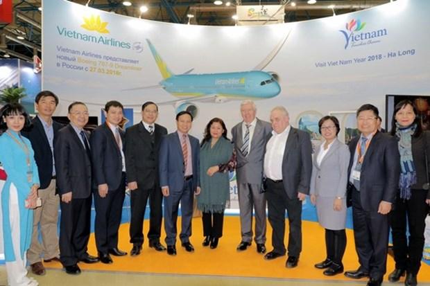 越南参加2018年第25届莫斯科国际旅游观光展览会 hinh anh 1