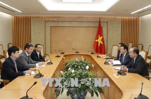 越南政府副总理王廷惠:政府一向重视专家在宏观经济调控方面的意见 hinh anh 2