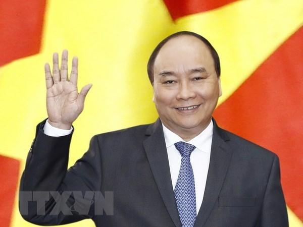 越南政府总理阮春福:将越澳关系提升为战略伙伴关系 hinh anh 1