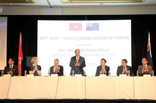 越南政府总理阮春福圆满结束对新西兰的正式访问 hinh anh 3