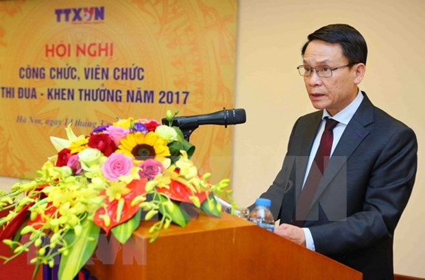 越通社社长阮德利:集中精力提高越南通讯社新闻报道质量和效果 hinh anh 2