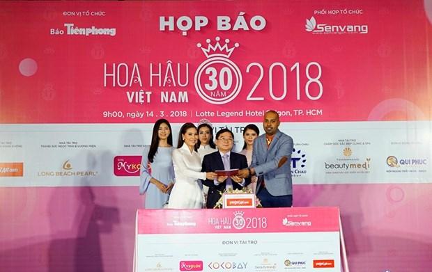 越捷航空成为2018年越南小姐大赛航空承运商 hinh anh 2