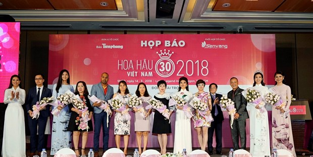 越捷航空成为2018年越南小姐大赛航空承运商 hinh anh 1