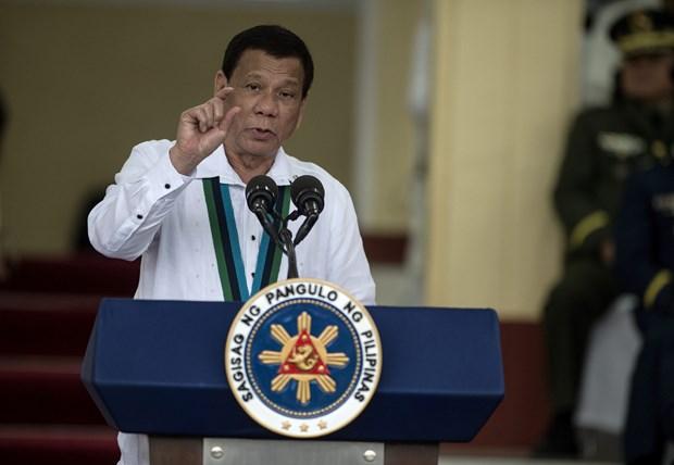 杜特尔特宣布菲律宾将退出国际刑事法院 hinh anh 1