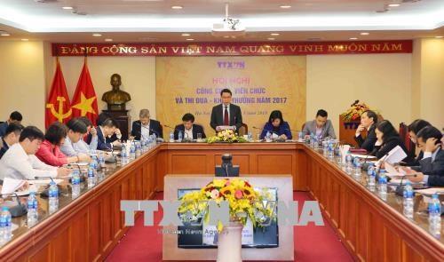 越通社社长阮德利:集中精力提高越南通讯社新闻报道质量和效果 hinh anh 1