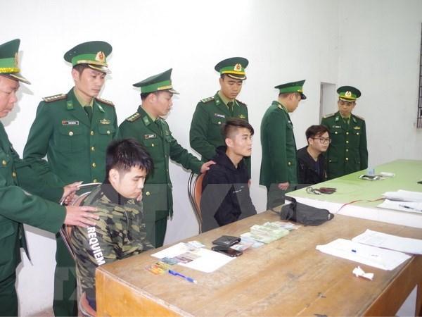 伪造银行卡盗取他人存款的三名中国籍男子被判刑 hinh anh 1