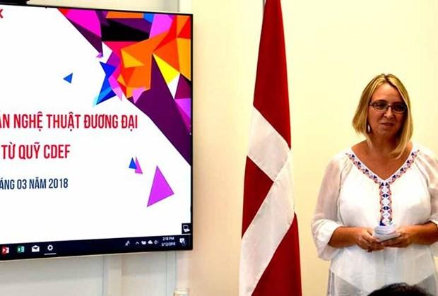 丹麦向越南8个当代艺术项目提供5万美元的援助资金 hinh anh 2