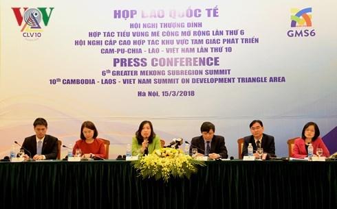 越南举行国际新闻发布会 公布GMS-6与CLV-10相关信息 hinh anh 1