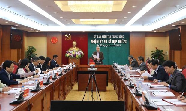 越共中央检查委员会第23次会议召开 hinh anh 2