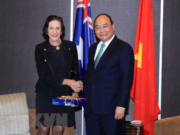 政府总理阮春福会见新南威尔士州领导 hinh anh 1