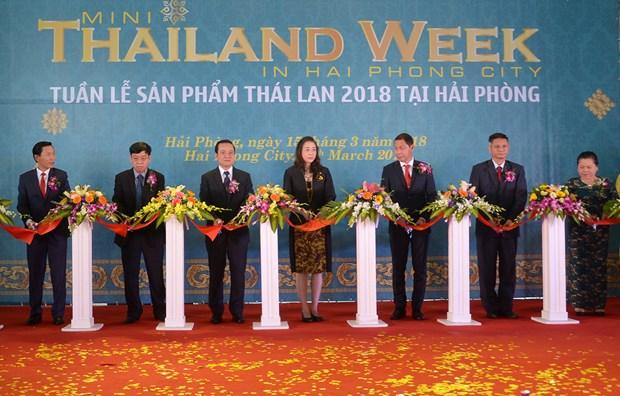 泰国产品周活动在海防市举行 hinh anh 1