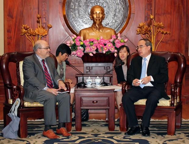 胡志明市与国际货币基金组织加强合作关系 hinh anh 1