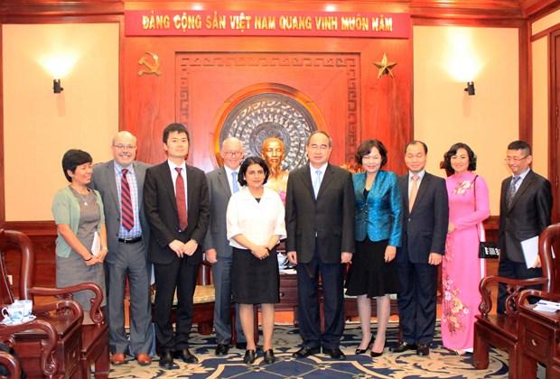 胡志明市与国际货币基金组织加强合作关系 hinh anh 2