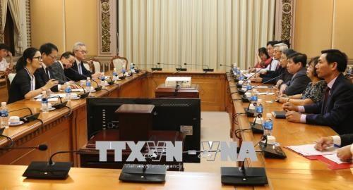 胡志明市希望与JICA合作展开重点项目 hinh anh 2