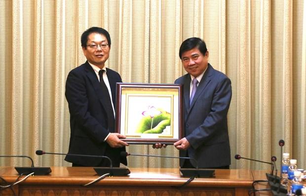 胡志明市希望与JICA合作展开重点项目 hinh anh 1