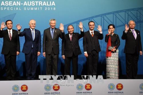 越南政府总理阮春福出席东盟-澳大利亚特别峰会 hinh anh 1