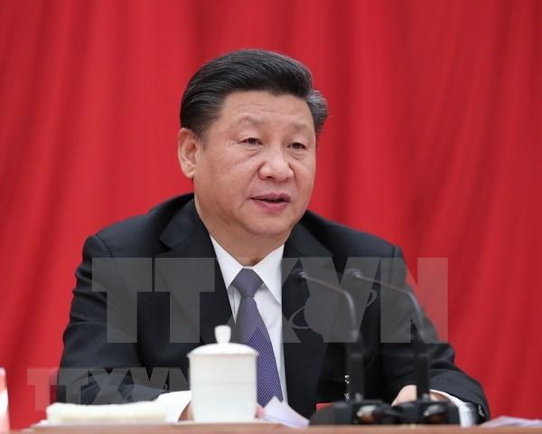 越南领导人致电祝贺中国新一届领导班子产生 hinh anh 1