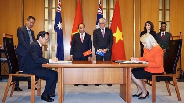 澳大利亚将越南视为职业教育领域的重要伙伴 hinh anh 1