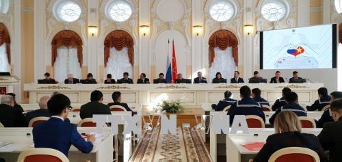 纪念胡伯伯踏上彼得格勒95周年研讨会在俄罗斯举行 hinh anh 1